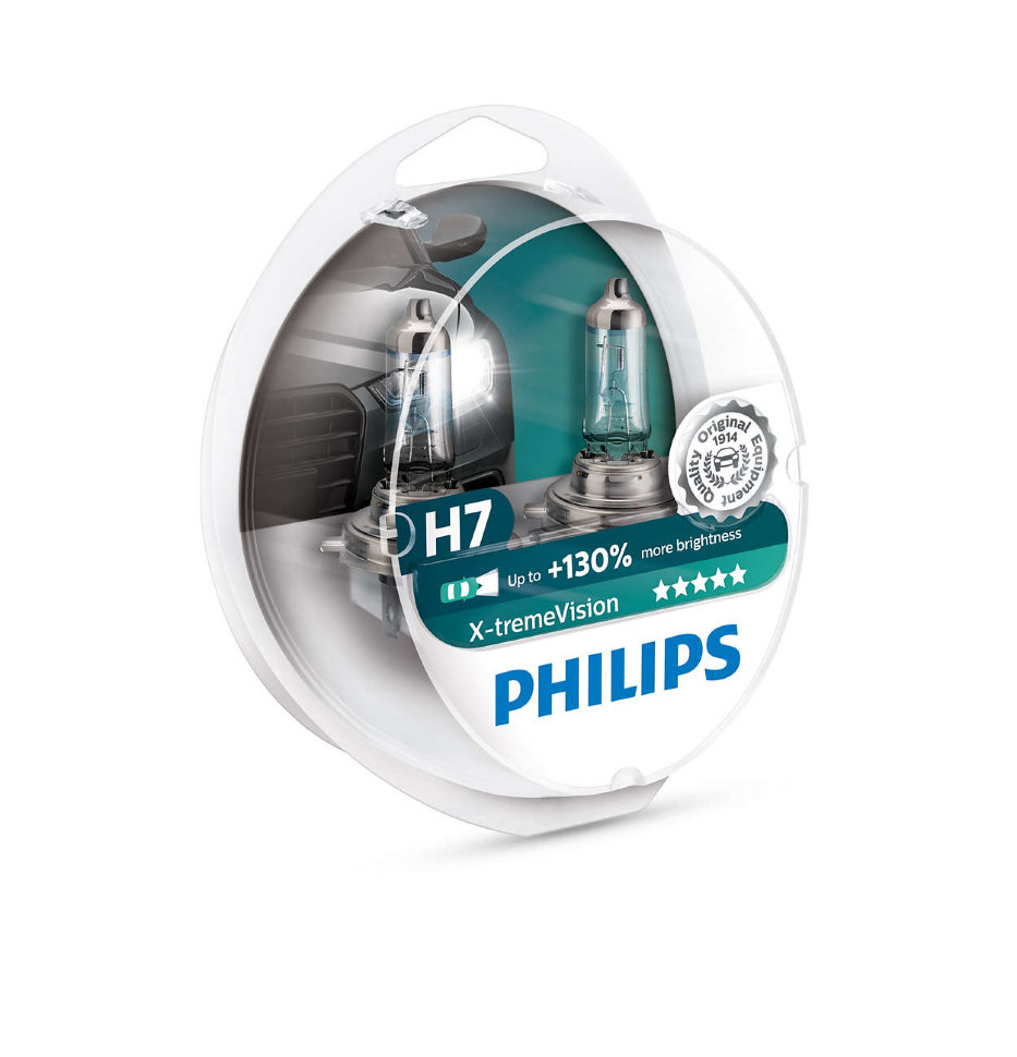 Лампы Philips X-tremeVision (2 шт.)