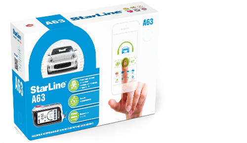 StarLine A63 2CAN+2LIN GSM